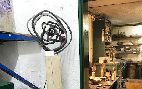 """Kunstaustellung """"Farbstatt"""""""